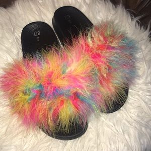 Brand new custom furry slides